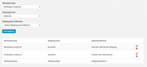 Wholesale Restrict Shipping