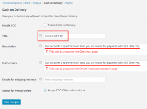 Invoice Payment Gateway WooCommerce