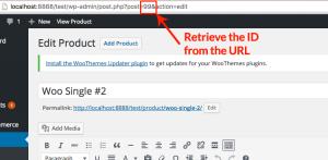 Retrieve Product ID From URL
