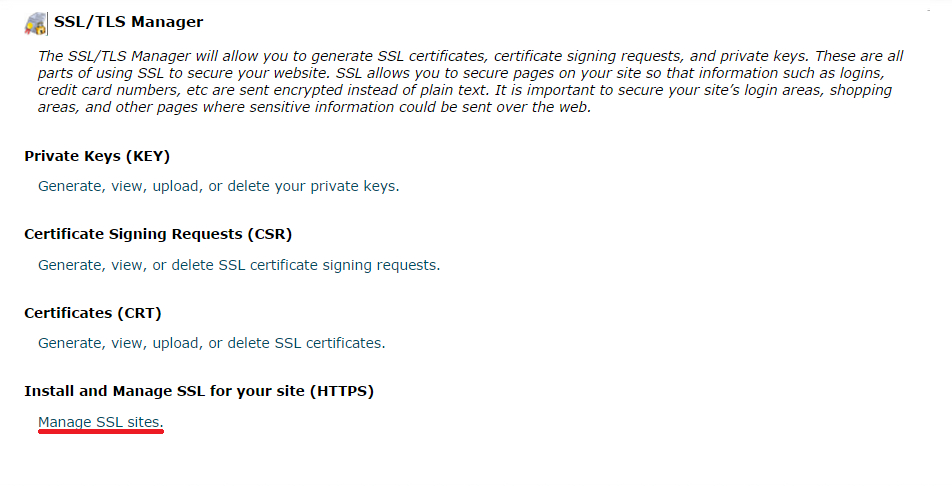 cPanel Install WooCommerce SSL Certificate