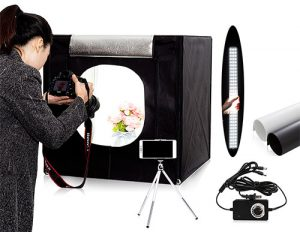 Use an LED photo light box to create killer WooCommerce product images