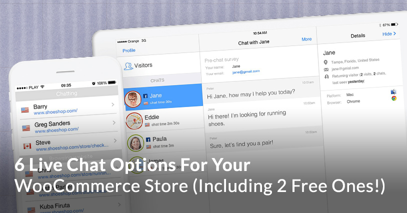 6 Live Chat Options For Your WooCommerce Store (Including 2 Free Ones!)