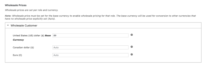 Aelia Currency Switcher Wholesale Prices Integration