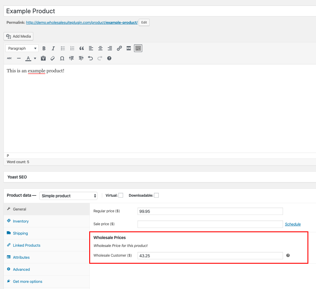 Adding Wholesale Price To WooCommerce Products