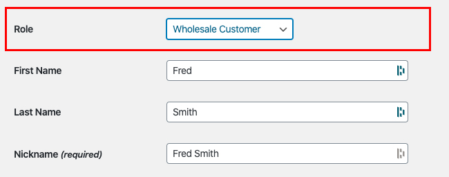 Wholesale Customer