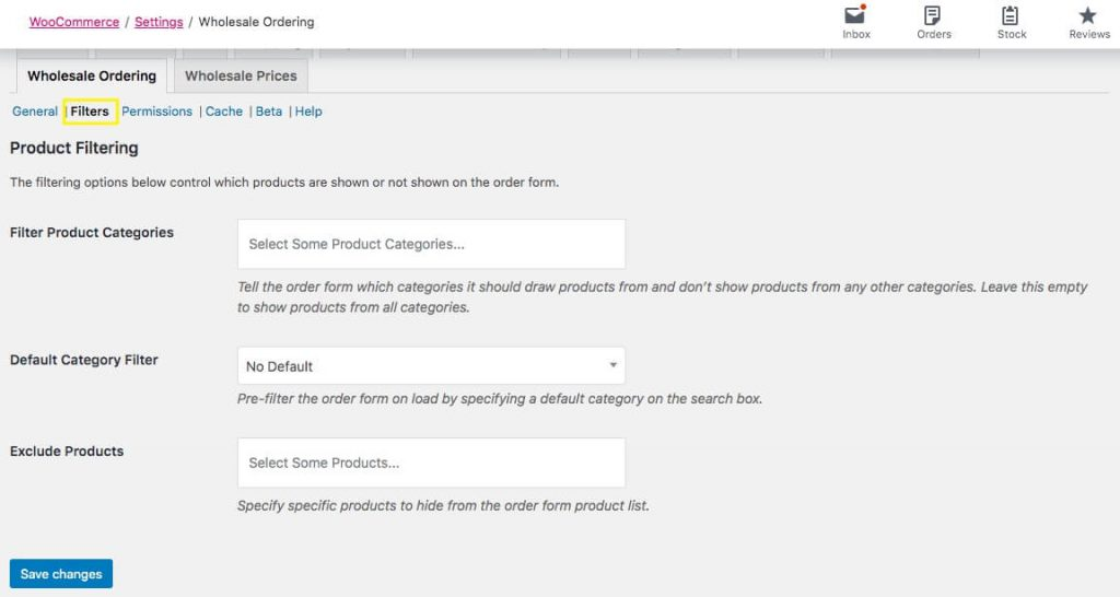 Using Filters in WooCommerce to manage product visibility for wholesale customers.