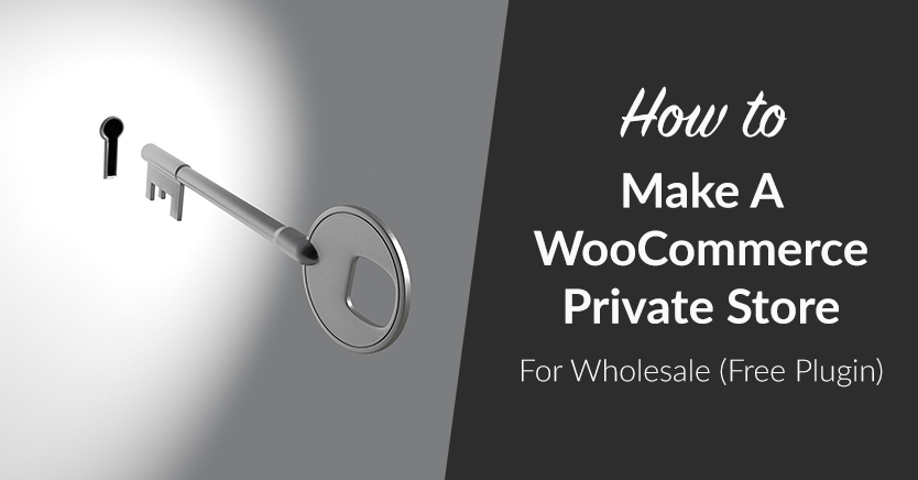 How To Make A WooCommerce Private Store For Wholesale (Free Plugin)