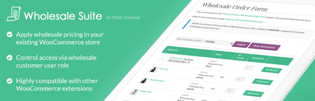 Wholesale Prices plugin
