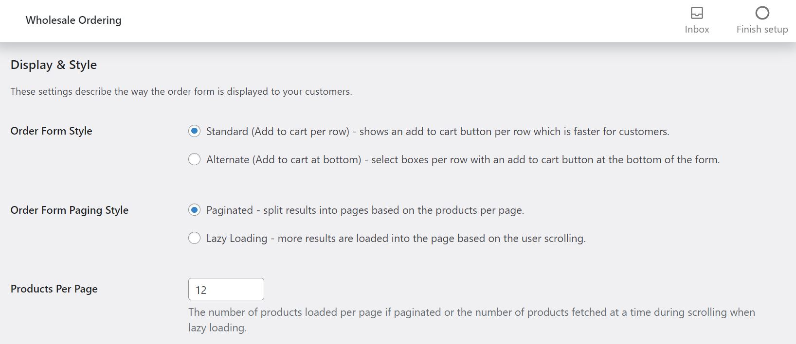Setting up an efficient ordering process for your wholesale B2B website, using our Order Form plugin.