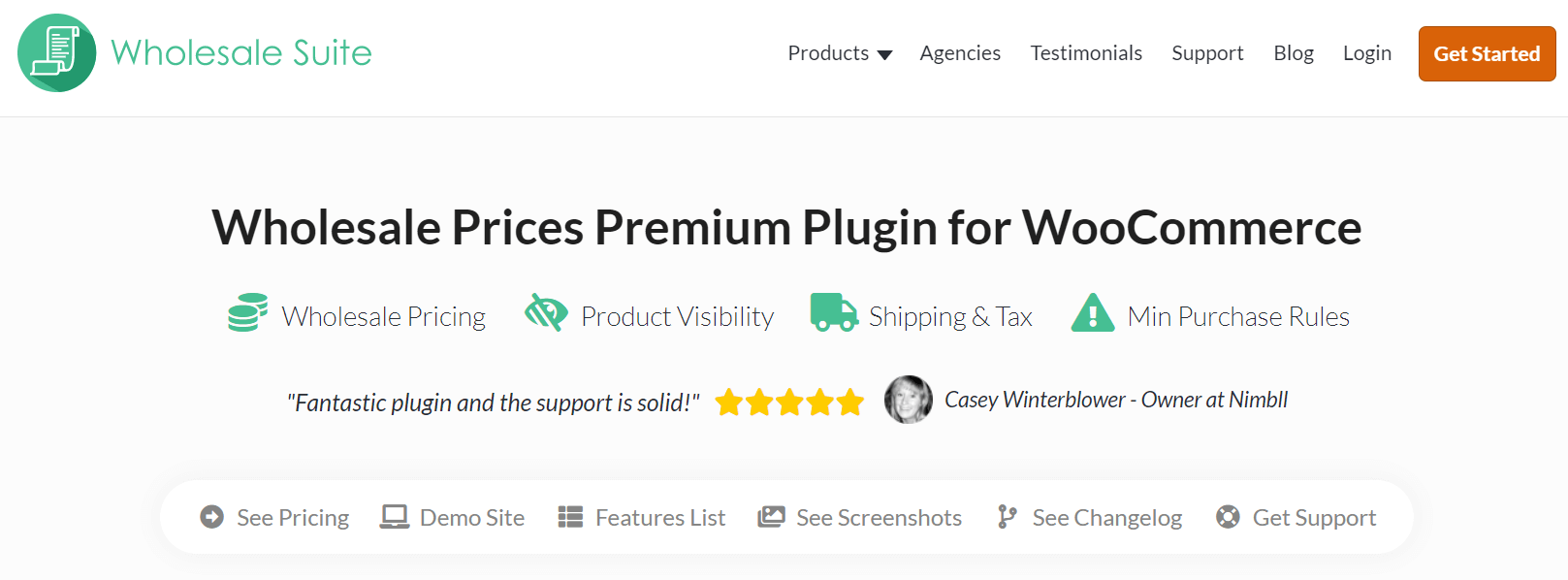 Wholesale Premium Prices Plugin page