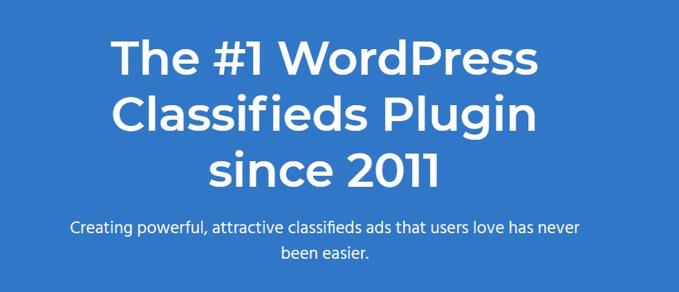 Another WordPress Classifieds Plugin