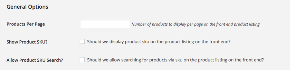 Enabling SKU search using Wholesale Order Form