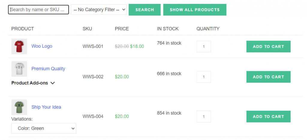 Configuring WooCommerce to search by SKU
