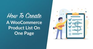 How To Create A WooCommerce Product List On One Page